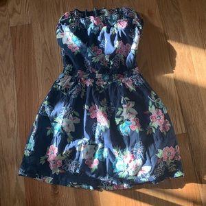 Hollister floral mini dress